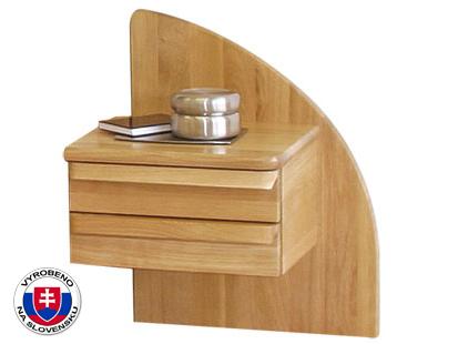 Noční stolek z masivu - Styler - Petra - pravý
